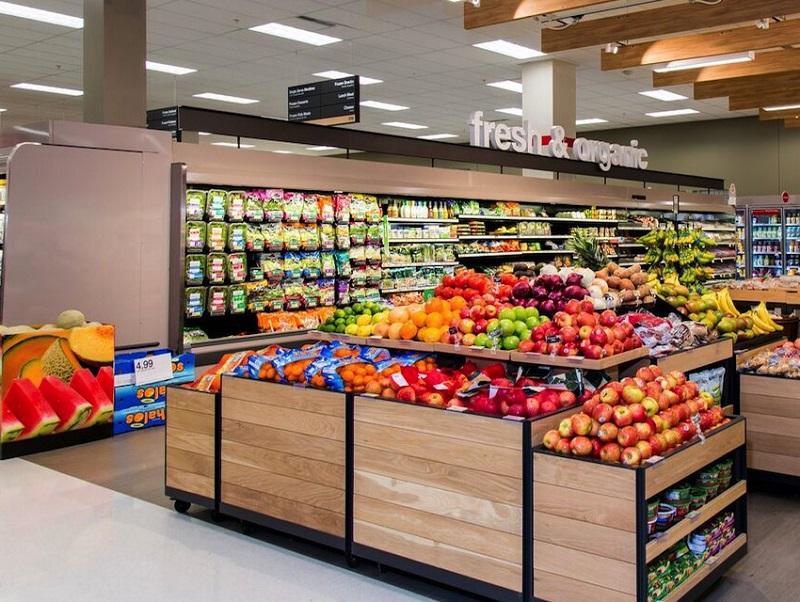 Mercado Target na Califórnia