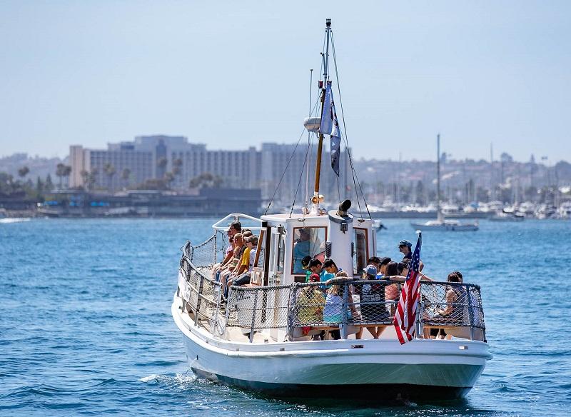 Passeio de barco pela Baía de San Diego