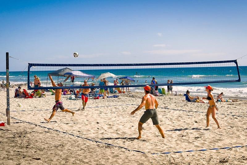 Vôlei em Ocean Beach - San Diego