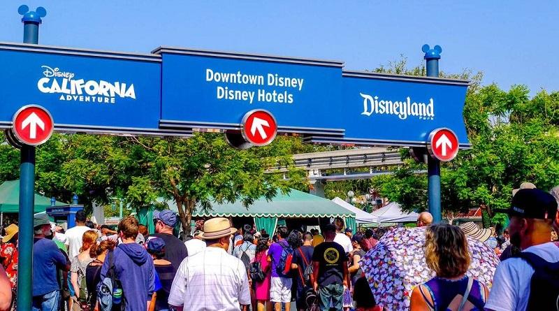 Bilheteria para comprar os ingressos dos parques da Disney