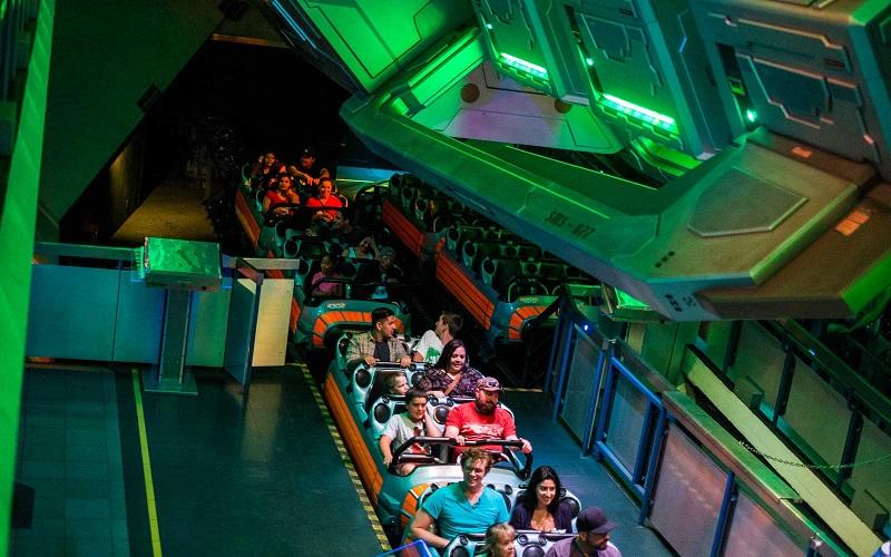 Tomorrowland: Hyper Space Mountain