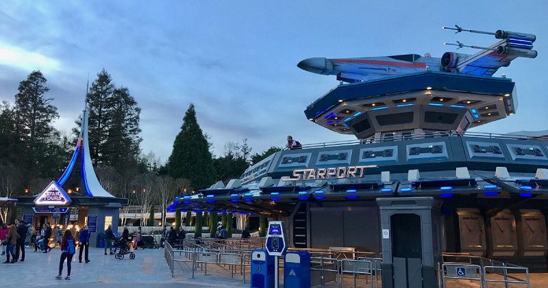 Tomorrowland na Disneyland: Star Tours