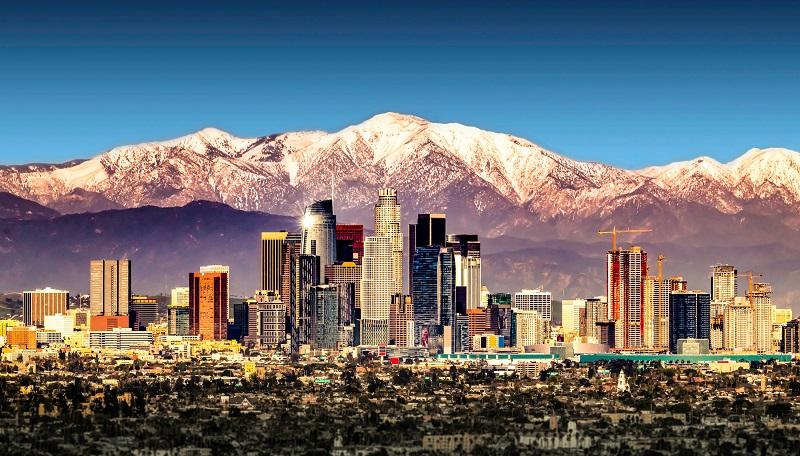 Inverno em Los Angeles
