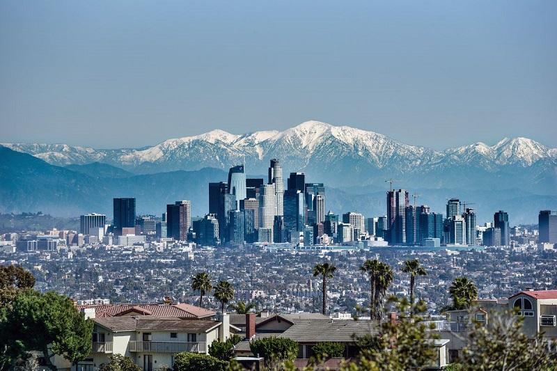 Panorâmica de Los Angeles